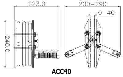 Double Handed Carry Clamp Specification