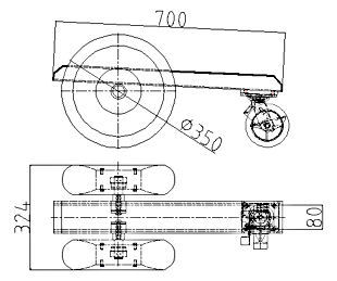 3 Wheel Dolly Specifications