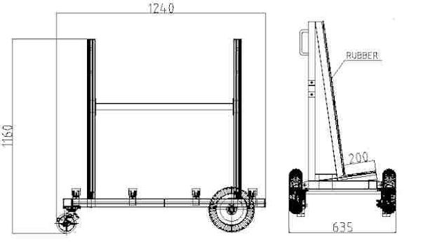 Slab Buggy Specifications