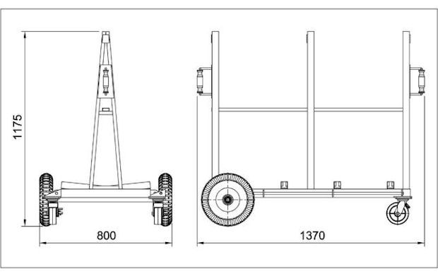 Double Sided Buggy Specifications
